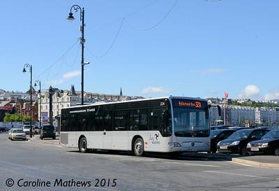 Bus Vannin 224 (KMN-224-U), Douglas, 22nd June 2015