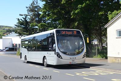 Bus Vannin 134, Port Erin, 22nd June 2015