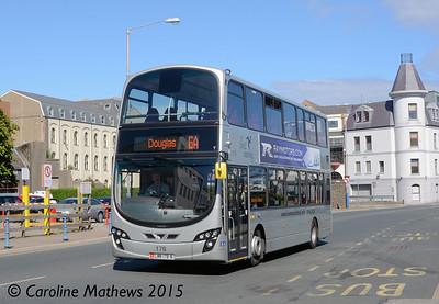 Bus Vannin 178 (LMN-178-N), Douglas, 22nd June 2015
