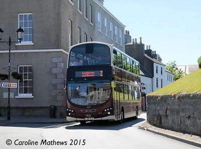 Bus Vannin 162 (JMN-48-R), Castletown, 22nd June 2015
