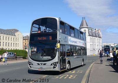 Bus Vannin June 180 (LMN-180-N), Douglas, 22nd June 2015