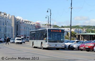 Bus Vannin 228 (LMN-228-H), Loch Promenade, Douglas, 22nd June 2015