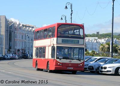 Bus Vannin 23 (HMN-248-J), Douglas, 22nd June 2015