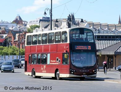 Bus Vannin 161 (JMN-47-R), Loch Promenade, Douglas, 22nd June 2015