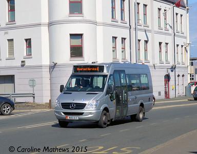 Bus Vannin 141 (MAN-41-H), Douglas, 22nd June 2015