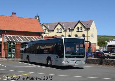 Bus Vannin 223 (KMN-223-U), Port Erin, 22nd June 2015