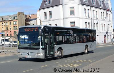 Bus Vannin 209 (KMN-209-L), Douglas, 22nd June 2015