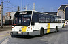 De Lijn, Belgium, Van Hool no. 2430 at Oostende on 1st September 1991.