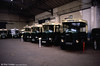 The Paris Transport Museum is housed appropriately in a former bus depot at St. Mande. The Renault TN series is often viewed as the traditional Paris bus of the 'thirties. Left to right: 6284 a TN6C, 3073 a TN4F, 2788 and 2720 both Tn6s.