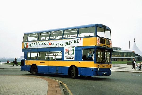 135 YNA352M, Liverpool 27/3/1991