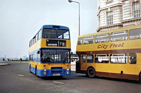 174 E916KYR, Liverpool 2/4/1991