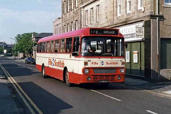 159 CSF159W, Kirkcaldy 22/5/1993