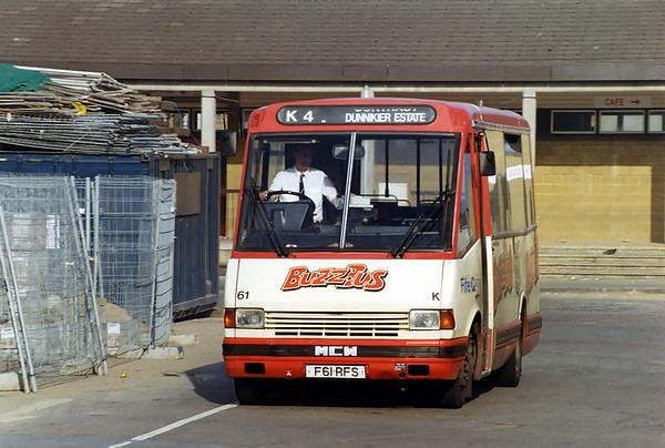 61 F61RFS, Kirkcaldy 22/5/1993