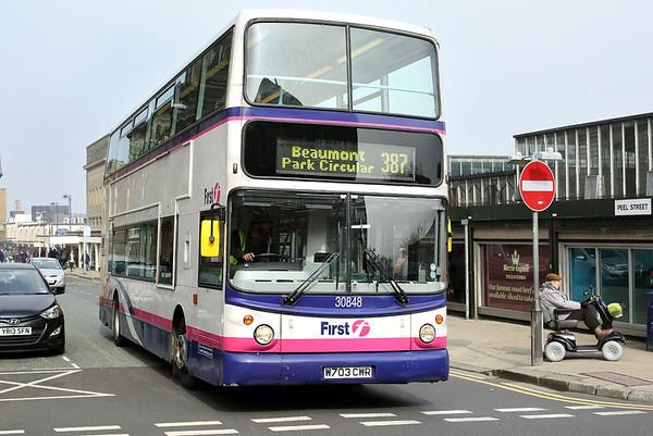 30848 W703CWR, Huddersfield 29/3/2014