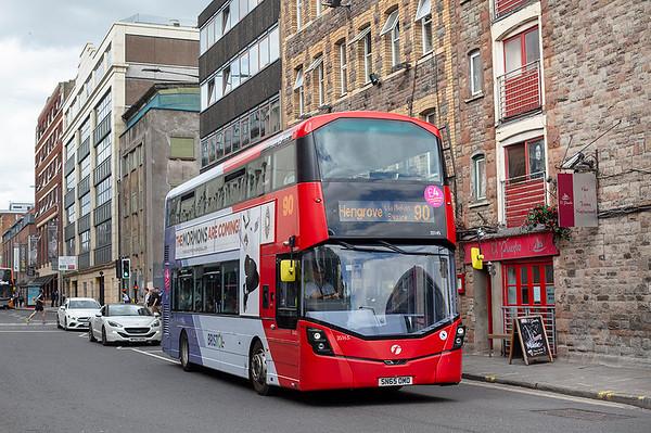 35145 SN65OMO, Bristol 1/7/2019