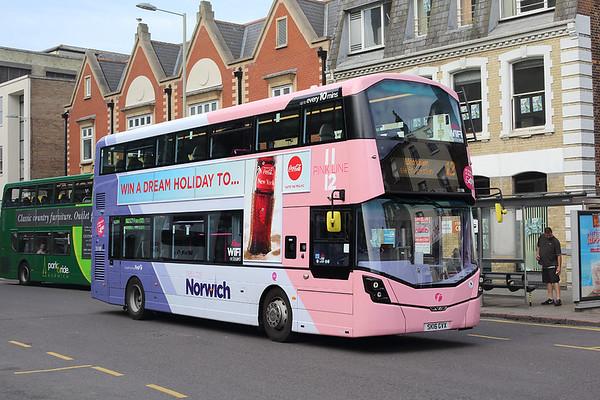 35198 SK16GVX, Norwich 24/5/2017