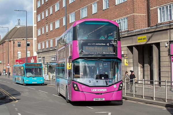 35151 SN65DKC, Leicester 27/2/2020
