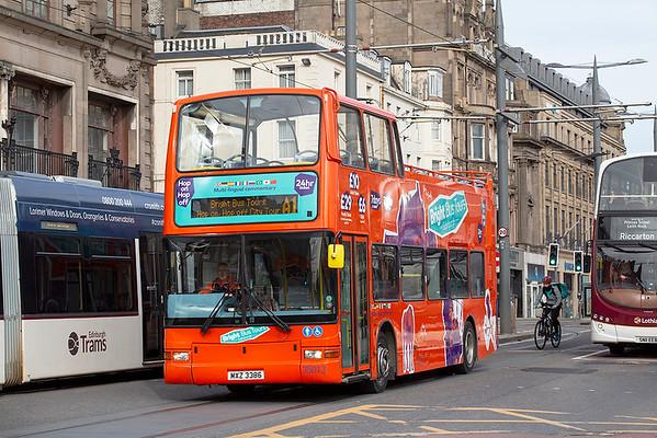 35013 MXZ3386, Edinburgh 21/3/2020
