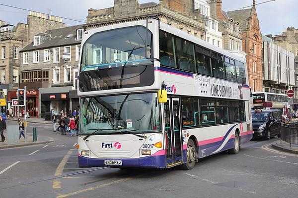 36017 SN05HWJ, Edinburgh 21/2/2014