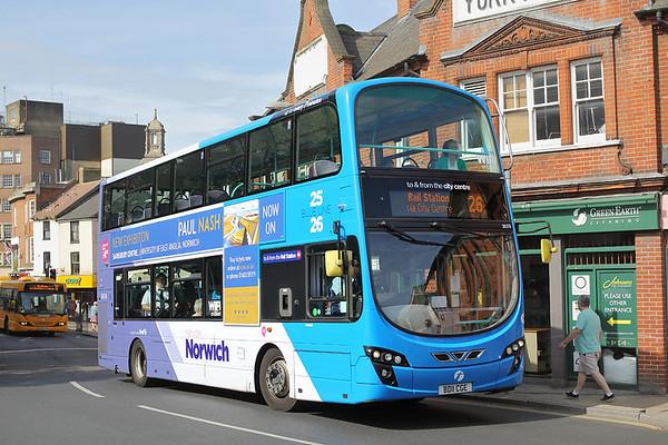 36176 BD11CGE, Norwich 24/5/2017