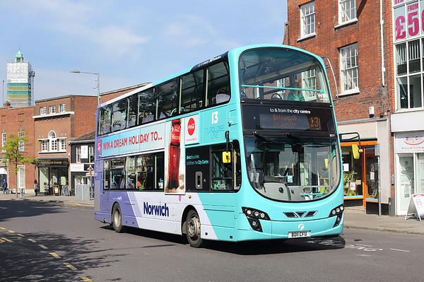 36171 BD11CFU, Norwich 24/5/2017
