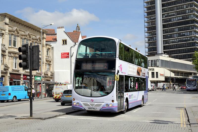 37348 WX57HLJ, Bristol 15/6/2015