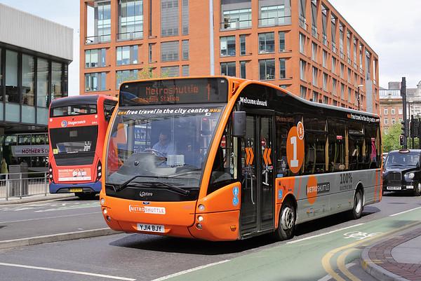 49923 YJ14BJY, Manchester 31/5/2016