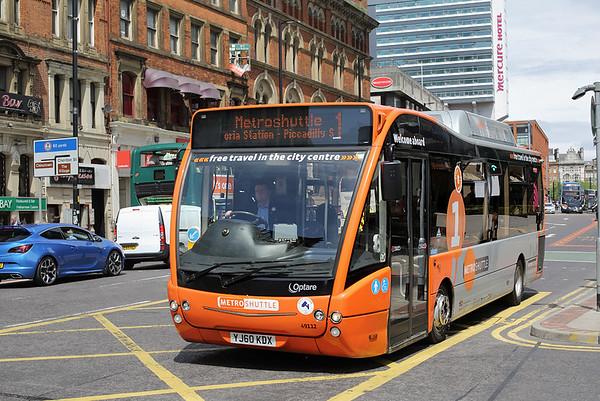 49112 YJ60KDX, Manchester 31/5/2016