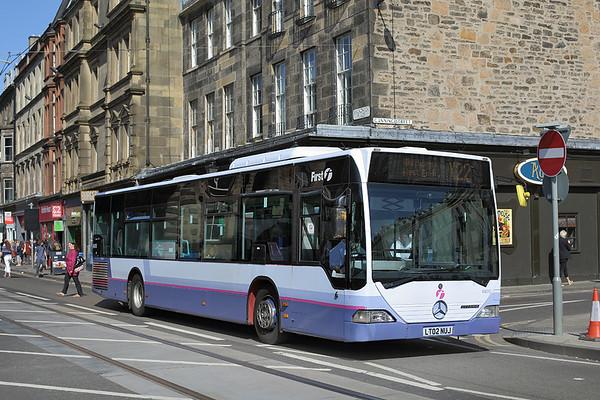 64010 LT02NUJ, Edinburgh 2/6/2016