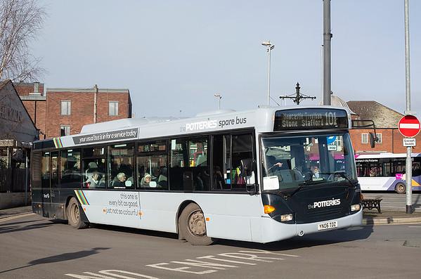 65032 YN06TDZ, Newcastle-under-Lyme 29/1/2020