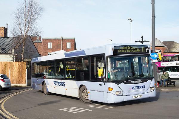 65001 YN04YJC, Newcastle-under-Lyme 29/1/2020
