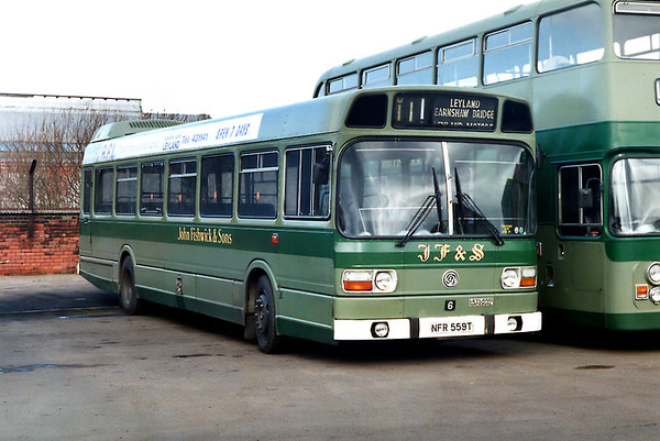 6 NFR559T, Leyland 21/2/1992