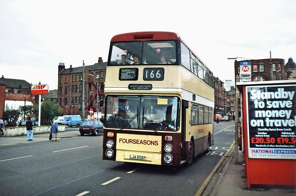 LJA605P, Leeds 3/11/1990