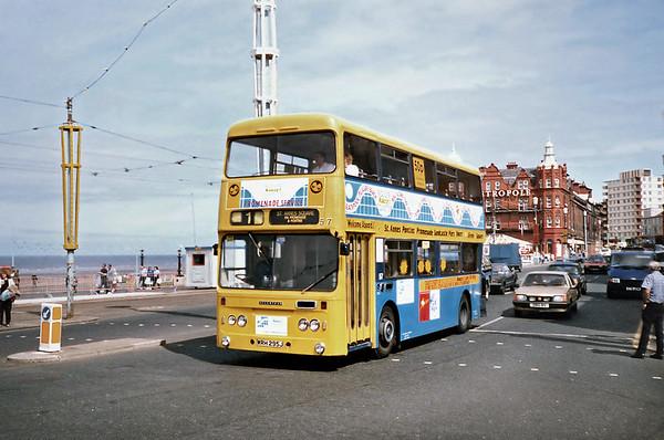 57 WRH295J, Blackpool 17/7/1991