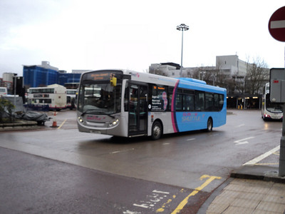 First Glasgow Single Deckers and Coaches