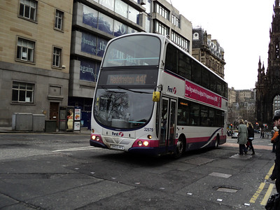 First Scotland East Double Deckers