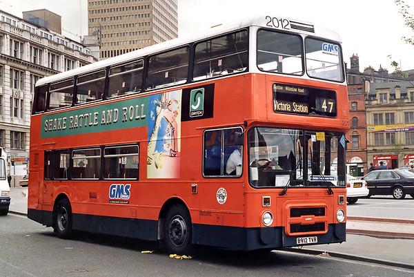 2012 B912TVR, Manchester Victoria 9/5/1996