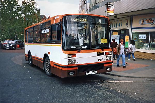 1767 C767YBA, Manchester 2/5/1991