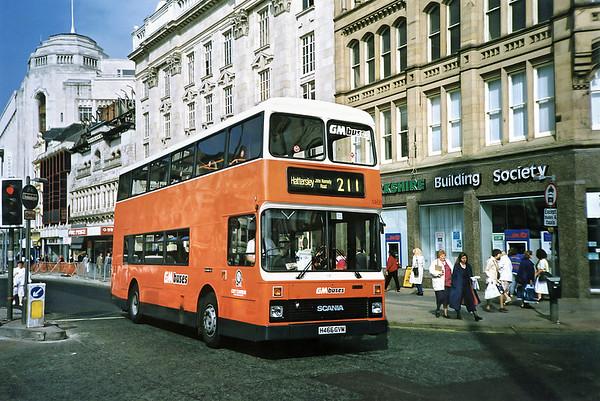 1466 H466GVM, Manchester 12/9/1991