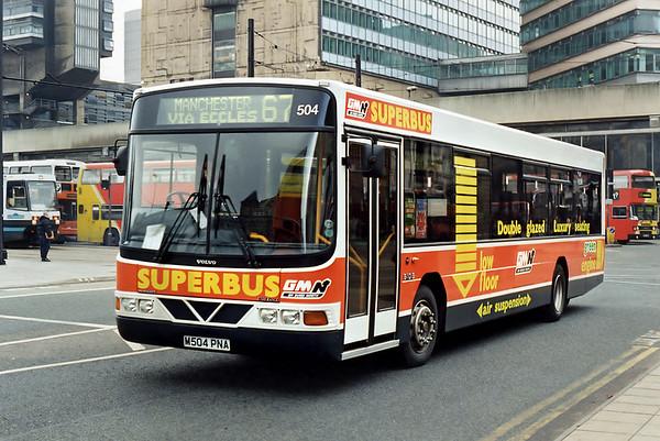 504 M504PNA, Manchester 24/2/1995