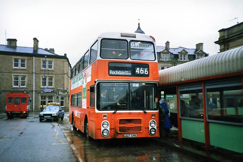 3227 C227ENE, Accrington 20/3/1991
