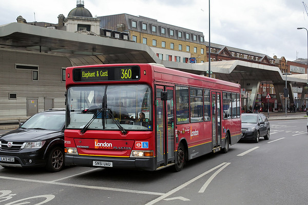 DP205 SN51UAU, Vauxhall 6/2/2016