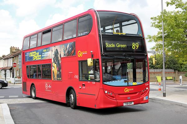 E238 YX61DPF, Bexleyheath 13/5/2014