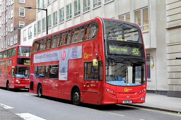 E201 SN61BKG, Marylebone 2/5/2014