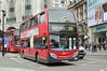 E135 SN60BZG, Piccadilly Circus 8/8/2014