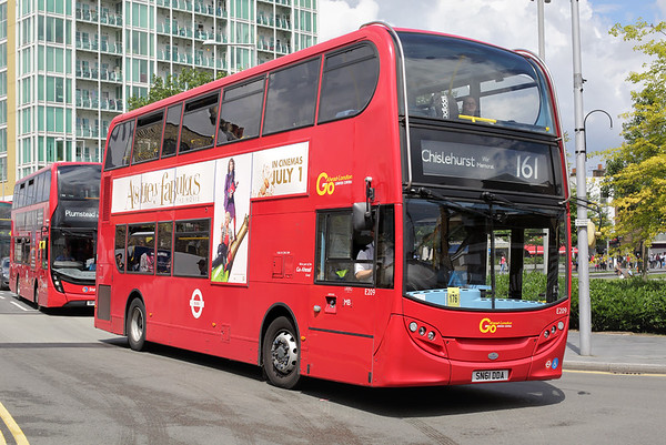 E209 SN61DDA, Woolwich 25/6/2016