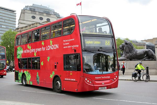 EH1 LX58DDJ, Trafalgar Square 2/5/2014