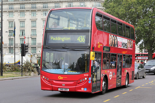EH15 SN61DBX, Marble Arch 18/8/2016