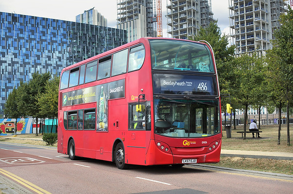 EN26 LK57EJO, North Greenwich 8/8/2018