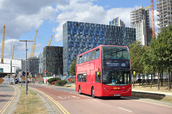 EN25 LK57EJN, North Greenwich 8/8/2018